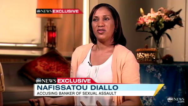 ABC News ROBERTS Robin has landed an interview with DIALLO Nafissatou, who has accused STRAUSS-Kahn Dominique of sexual assault