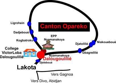 La carte du canton1