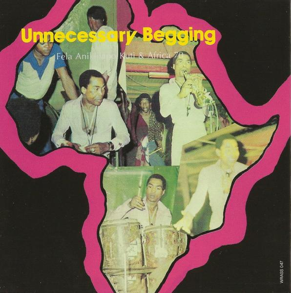 KUTI FELA - J.J.D. (JOHNNY JUST DROP) / UNNECESSARY BEGGING