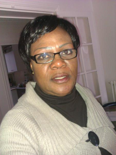 Mme Zokou Solange, Présidente des filles de Djidji en France